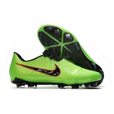 Chaussures 2020 Nike Phantom Vnm Elite FG -Vert Noir