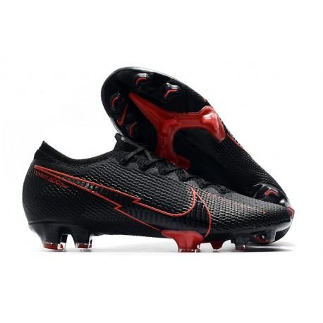 Chaussure Nike Mercurial Vapor 13 Elite FG ACC Noir Rouge