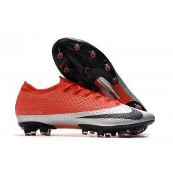 Chaussures Nike Mercurial Vapor 13 Elite AG-Pro Rouge Argent Noir