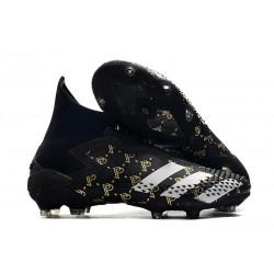 Crampon Paul Pogba adidas Predator Mutator 20+ PP FG -Noir Gris