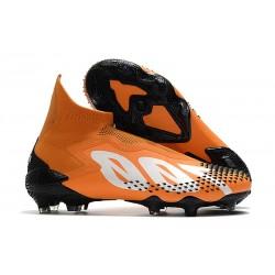 Crampon adidas Predator Mutator 20+ FG -Orange Blanc Noir