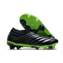 Chaussures Nouvel adidas Copa 20+ FG - Noir Vert signal
