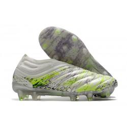 Chaussures Nouvel adidas Copa 20+ FG - Blanc Noir Vert