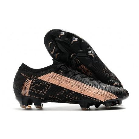 Crampon Nouvel Nike Mercurial Vapor 13 Elite FG Noir Rose