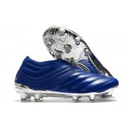 Chaussures Nouvel adidas Copa 20+ FG - Bleu Royal Argent