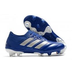 adidas Neuf Chaussure de Football Copa 20.1 FG Bleu Royal Argent