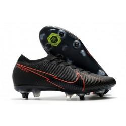 Nike Mercurial Vapor XIII Elite SG-Pro AC Noir Rouge
