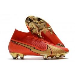 Crampons Nike Mercurial Superfly 7 Elite FG CR100 Rouge Or