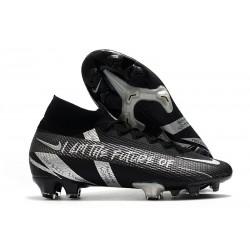 Crampons Nike Mercurial Superfly 7 Elite FG Noir Argent