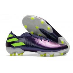Chaussure adidas Nemeziz 19.1 FG Violet Vert