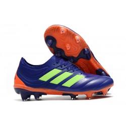 Chaussures Football adidas Copa 19.1 FG Violet Vert