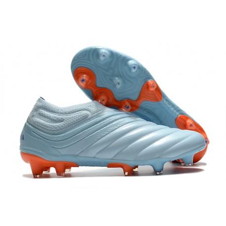 Chaussures Nouvel adidas Copa 20+ FG - Ciel Bleu Royal Corail