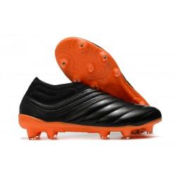 Chaussures Nouvel adidas Copa 20+ FG - Noir Orange
