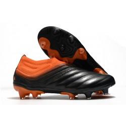 Chaussures Nouvel adidas Copa 20+ FG - Corail Noir Rouge Goire