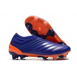 Chaussures Nouvel adidas Copa 20+ FG - Viola Vert Orange