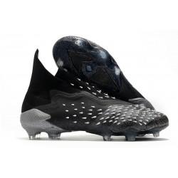 Chaussure de Foot adidas Predator Freak+ FG Noir Gris Blanc