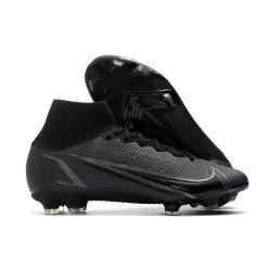 Chaussure Nike Mercurial Superfly 8 Elite FG Noir