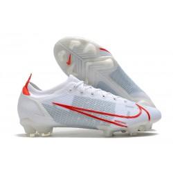 Nike pour hommes Mercurial Vapor XIV Elite FG Blanc Rouge