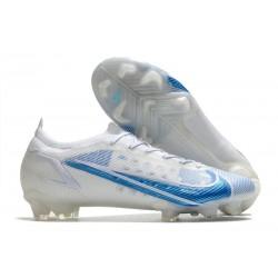 Nike pour hommes Mercurial Vapor XIV Elite FG Blanc Bleu