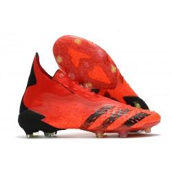 adidas Predator Freak+ FG Meteorite Pack Rouge Noir Rouge Solaire