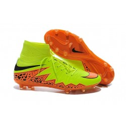 Chaussures de Football Nouvelle Nike Hypervenom Phantom II FG Jaune Orange