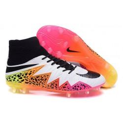 Chaussures de Football Nouvelle Nike Hypervenom Phantom II FG Blanc Rose Noir