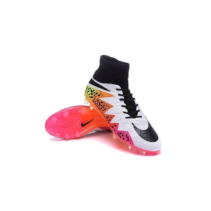 Chaussures de Football Nouvelle Nike Hypervenom Phantom II FG Blanc
