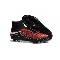 Chaussures Robert Lewandowski Nike Hypervenom Phantom II FG Rouge Noir