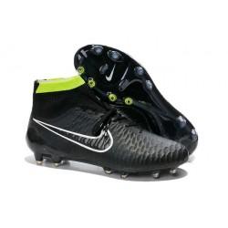 Chaussures de Football Nouveau Nike Magista Obra FG Noir Volt