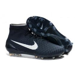 Nike Meilleurs Crampons Moulés Magista Obra FG Homme Cyan Blanc
