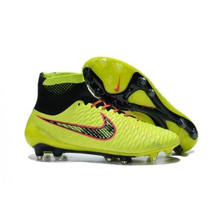 Rouge Volt Noir Obra Chaussures Nike Fg Nouvelle Foot Magista Acc fyIY7gbvm6