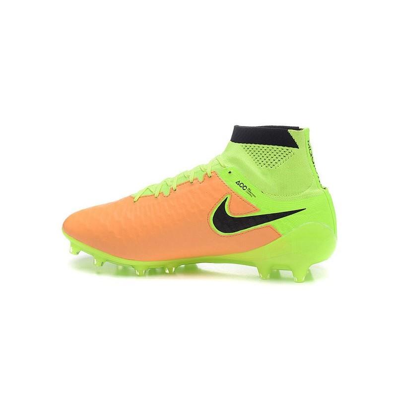 Foot Nouvelle Obra Chaussures Cuir Noir Fg Volt Magista Nike Acc Jaune BdhtrCxsQ