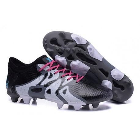 size 40 b68da 51832 Chaussure Nouveau adidas X 15+ Primeknit FGAG Noir Blanc