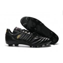 Chaussures de Football adidas Copa Mundial FG Cuir de Kangourou Tout Noir