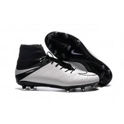 Chaussure Meilleure Nike Hypervenom Phantom 2 FG Blanc Noir