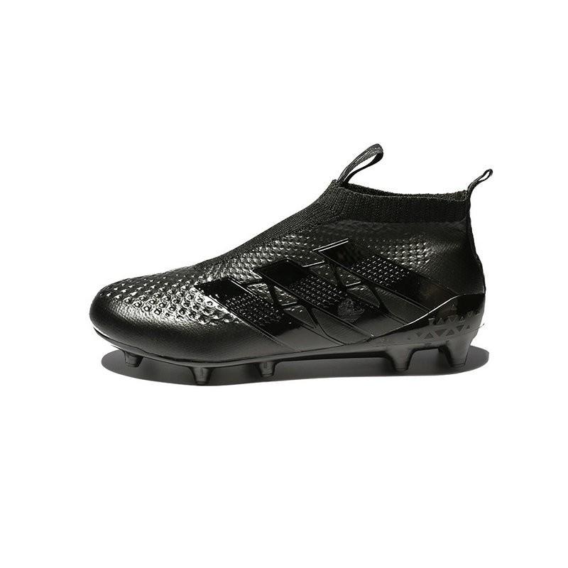 Chaussure Crampons adidas Ace 16 Purecontrol FG/AG Tout Noir Zoom. Précédent. Suivant