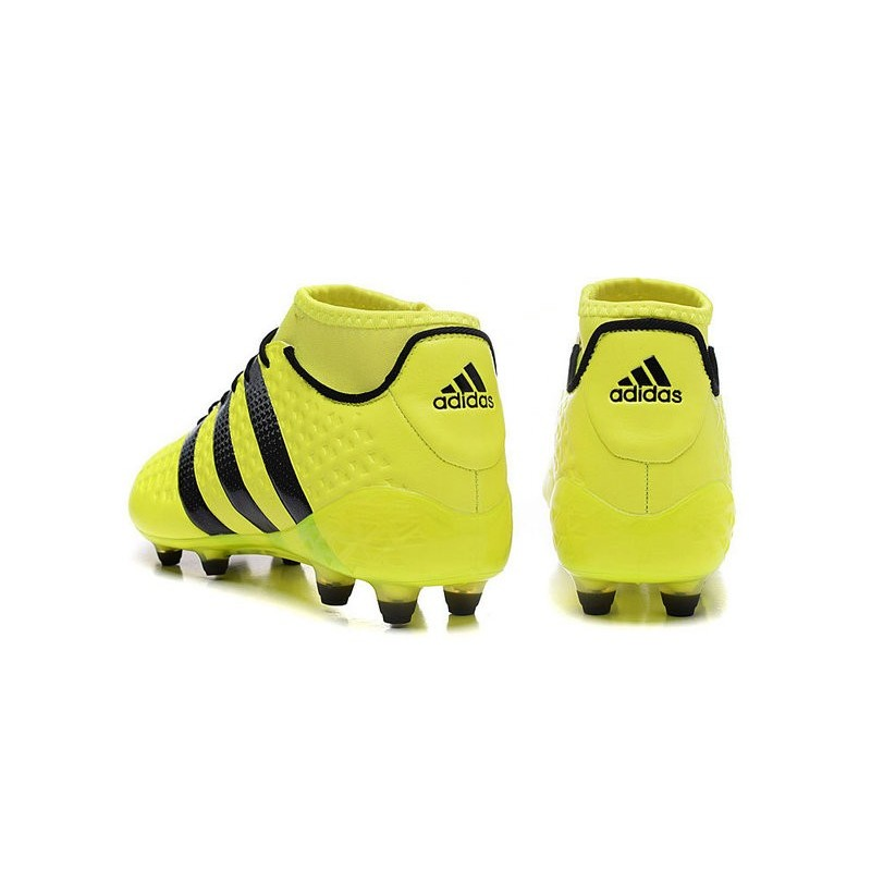 46a744ef4f19 adidas ACE 16.1 Primeknit FG AG Chaussures Football Homme Jaune Noire