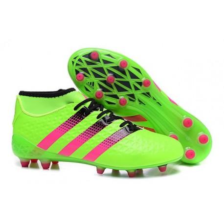 Homme Rose Adidas 16 Fgag Chaussures Ace 1 Primeknit Football Vert LqSUzMVpG
