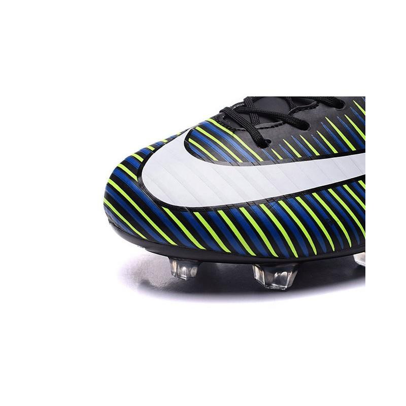 À Nike Fg Mercurial Noir Vapor Chaussures Crampons Xi Blanc R54AjL