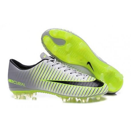 Noir Fg Nike Vapor Chaussures Xi Mercurial À Argent Crampons bgY6fy7