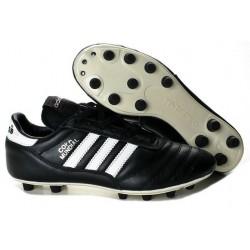 Chaussures de Football adidas Copa Mundial FG Cuir de Kangourou Noir Blanc