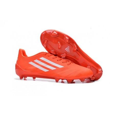 on sale 87c71 315fb Crampons de Foot Neuf Homme adidas F50 adizero FG Orange Blanc