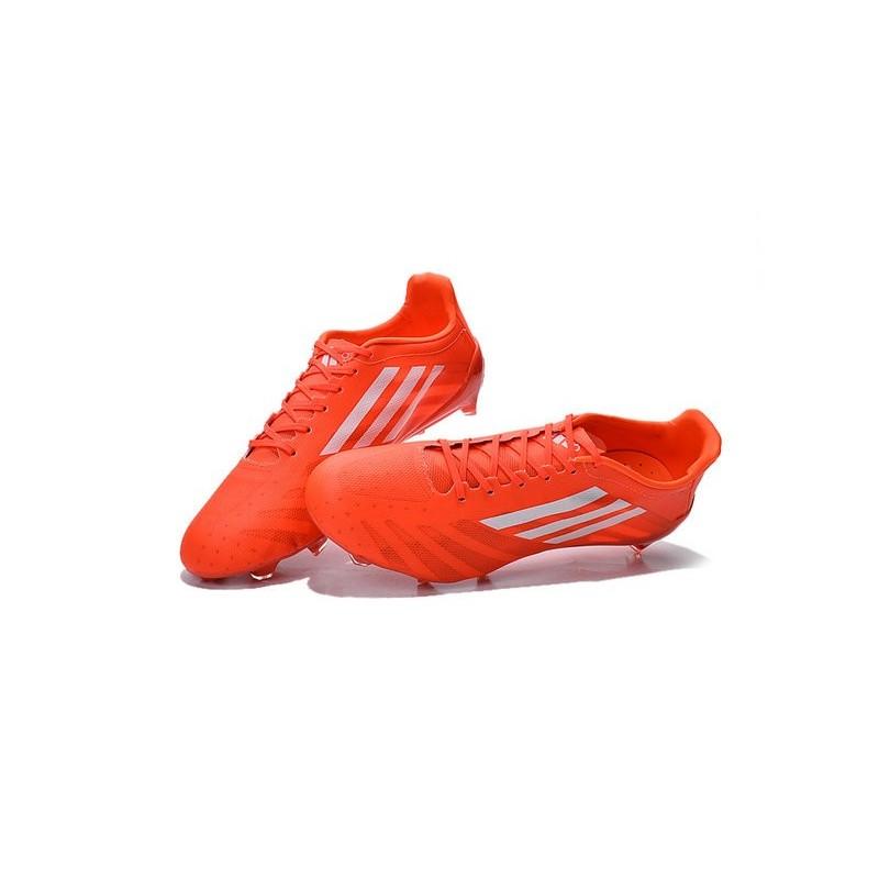 huge discount f25ed 0cb4c Crampons de football Adidas F50 Adizero Messi TRX FG SYN Orange ...
