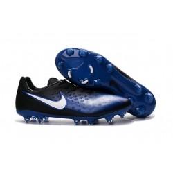 Chaussures Football 2016 Nike Magista Opus II FG Homme Bleu Noir Blanc
