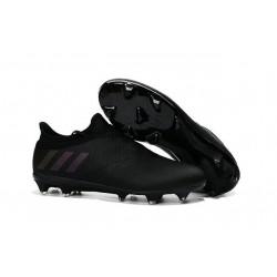 Crampons de Foot Nouvel adidas Messi 16+ Pureagility FG Tout Noir
