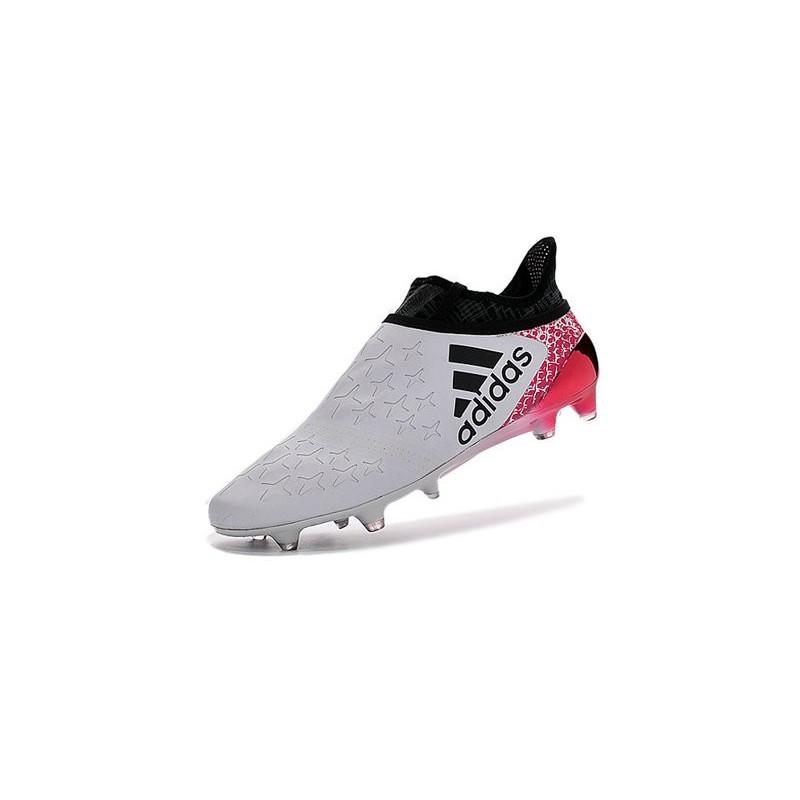 super popular 7cb16 1354e adidas X 16+ Purechaos FG Nouvel Crampons Football Blanc Ros