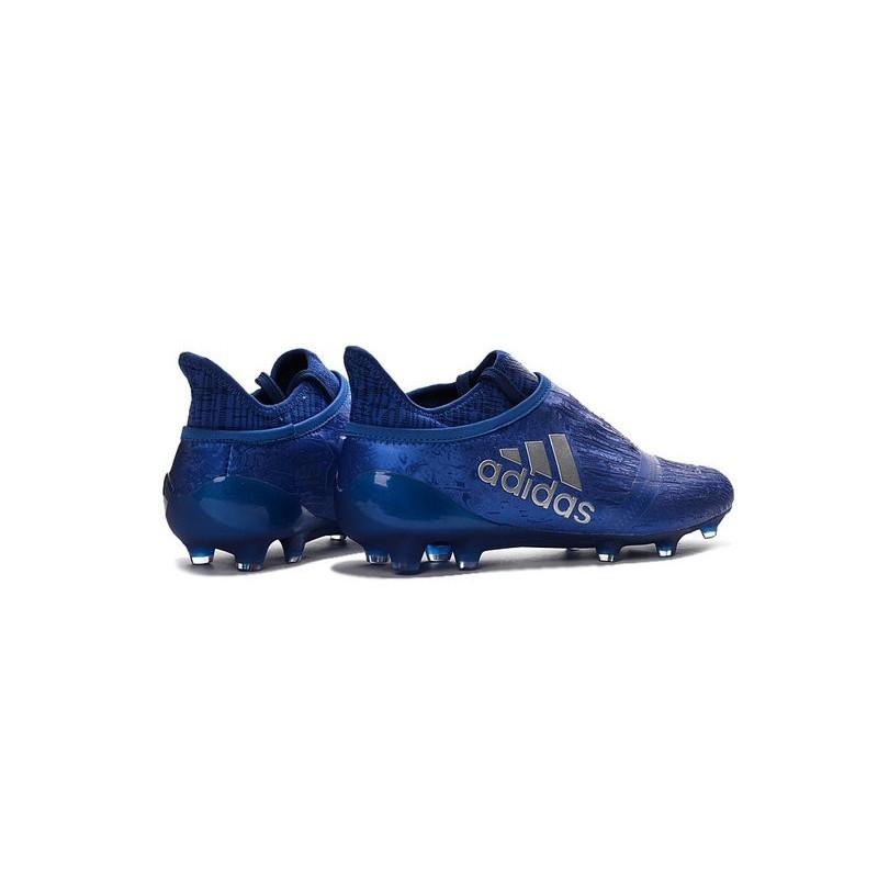 competitive price 7cbec 74b2f X Chaussures Purechaos Foot Techfit 16 Bleu Adidas De Argenta Fg FxFRwraqtX