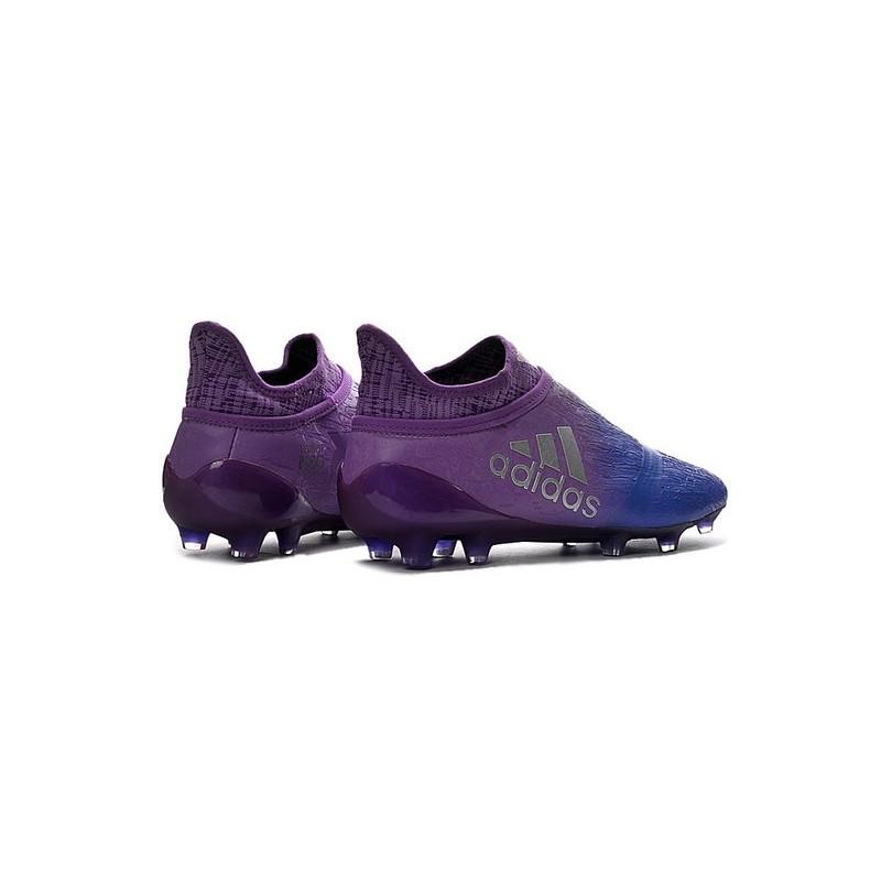 Adidas Techfit De 16Purechaos Fg Violet Bleu X Chaussures Foot n0vmN8w