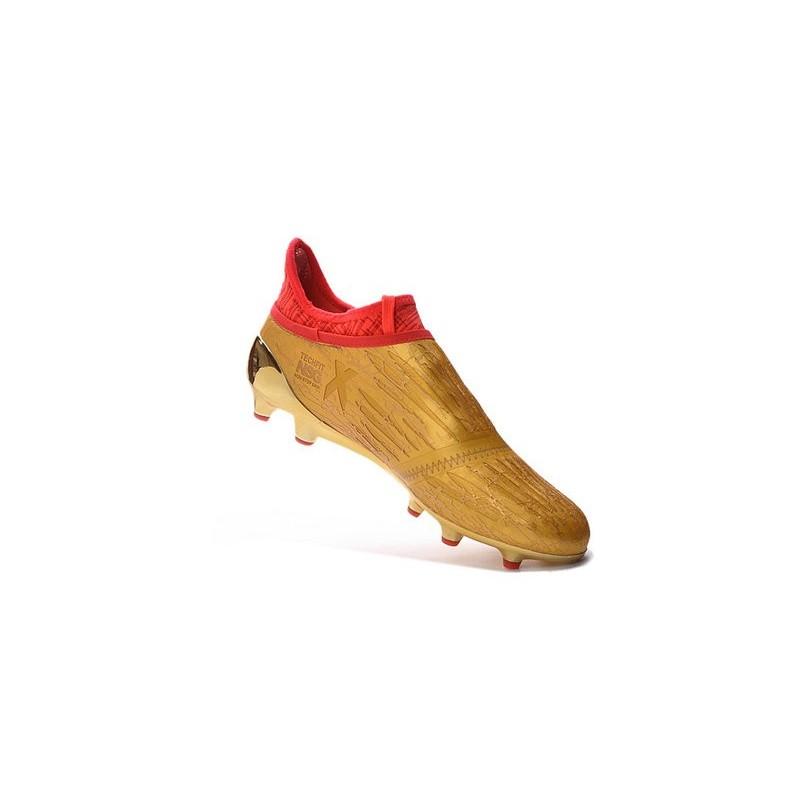 Fg Techfit Purechaos Rouge Foot Adidas 16 Chaussures De X Doré xSwSIqr