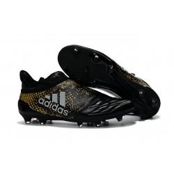 Chaussures de Foot adidas X 16+ Purechaos FG Techfit Noir Or Argent